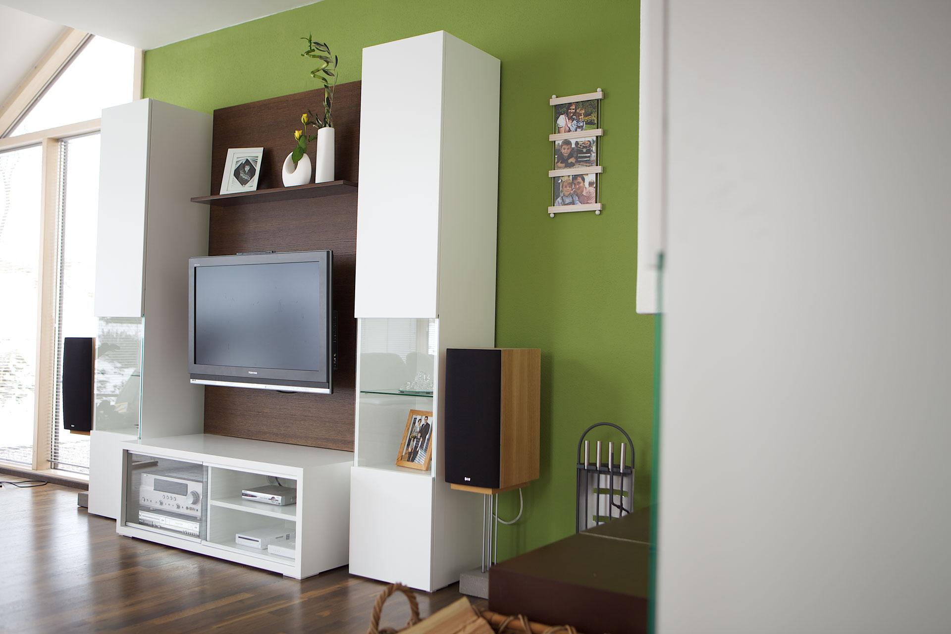 ... Wohnzimmerschrank Und TV Möbel Weiß Lackiert Wohnzimmerschrank ...