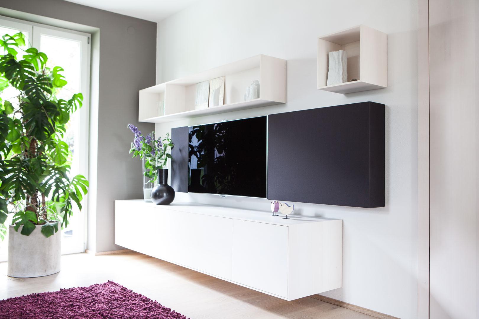 Wohnzimmer & TV-Möbel 712 • Schreinerei Steinberger, Bubach ...