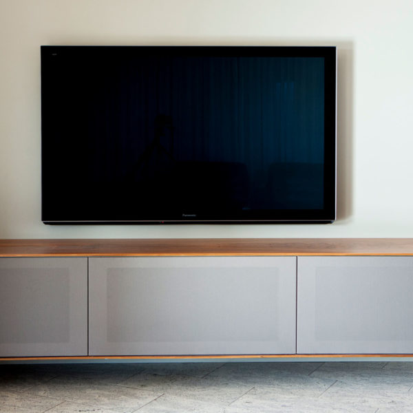 Excellent Wohnzimmer Und Tvmbel Mit Leinwand Und Soundsystem With Tv  Ausfahrbar